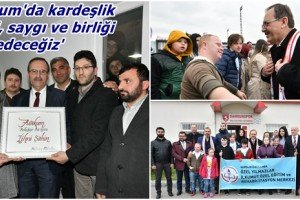 Başkan Zihni Şahin: 'Atakum Sevgi ve Kardeşliğin Şehridir'