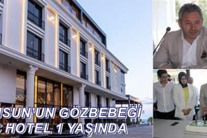 Samsun'un En İddialı 4 Yıldızlı Oteli B&C Hotel 1. Yaşını Kutladı