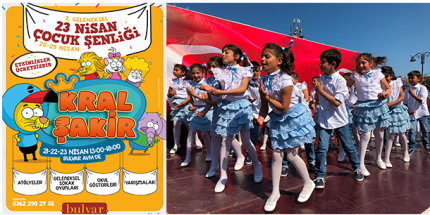 7. Geleneksel Çocuk Şenlikleri Bulvar AVM'de Başlıyor