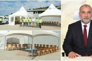 Canik Belediyesi'nden Taziye Çadırı Uygulaması