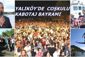 Kabotaj ve Denizcilik Bayramı Yalıköy'de Coşkuyla Kutlandı