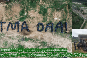 Çevreyi Kirletenlere Karadeniz Şiveli Sitem