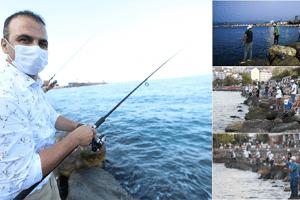 Fatsa'da Ödüllü Balık Avı yarışması