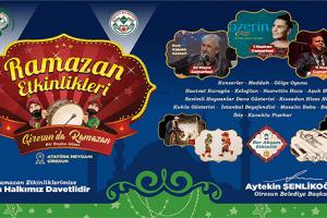 Giresun Belediyesi'nden Dolu Dolu Ramazan Etkinlikleri