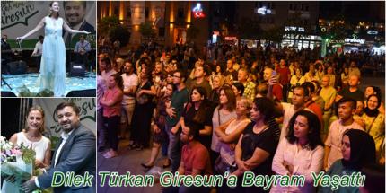 Giresun Belediyesi Bayramda Müzik Ziyafeti Verdi