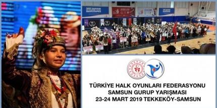 Samsun, Halk Oyunları Yarışmalarına Ev Sahipliği Yapıyor