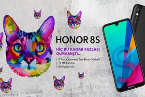 HONOR 8S Türkiye'de Ön Siparişe Açıldı