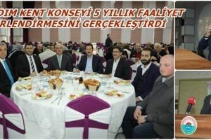 """Erdoğan Tok: """"İlkadım Kent Konseyi 5 Yılda Sosyal Yaşama Damga Vurdu"""""""