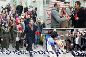 İlkadım'da 14 Mahallede Kentsel Dönüşüm Müjdesi Bahar Havası Estirdi