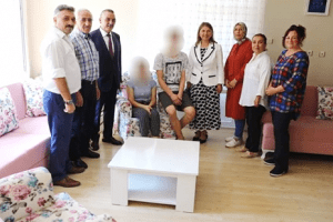 Hayalini Kurdukları Evi İlkadım Belediyesi Donattı