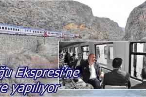 """""""Turistik Doğu Ekspresi"""" Hizmete Sunulacak"""
