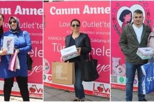 Lovelet Outlet'te Anneler 'in Yüzünü Güldüren Kampanya
