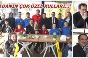 Mustafa Demir, Melek Yüzlüler İle Buluştu