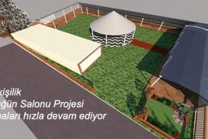 19 Mayıs İlçesinde Kır Düğün Salonu Projesi Bayram'a Yetişecek