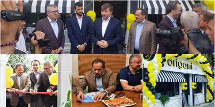 Origami Kafe Atakum'da Hizmete Açıldı