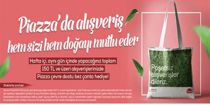 """Samsun Piazza'da """"Doğa Dostu"""" Kampanya"""