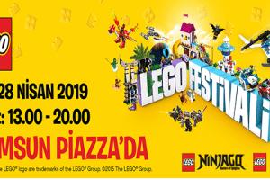 """Samsun Piazza'da """"Lego Festivali"""" Başlıyor"""