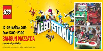 Piazza'da LEGO Festivali Devam Ediyor