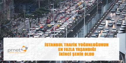 En Fazla Trafik Yoğunluğuna Sahip Şehirler
