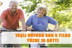 Yaşlı Nüfusu Artıyor