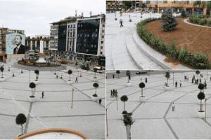 Meydan Projesi Peyzaj Düzenlenmesinde Meyve Ağaçlarına Yer Verildi