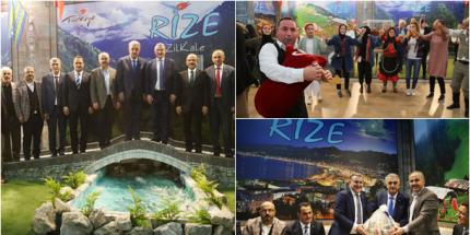 11. Rize Tanıtım Günleri İstanbul'da Başladı