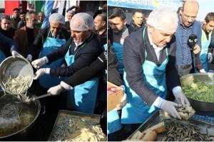 Hamsi Festivali'nde 2,5 Ton Hamsi İkram Edildi