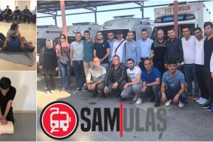 SAMULAŞ'ta Personele 'Hayat Kurtarma' Eğitimleri