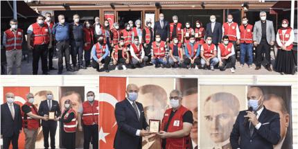 Başkan Togar Kızılay Gönüllüleri İle Bir Araya Geldi