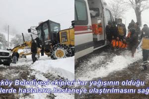 Tekkeköy Belediyesi Hastalar İçin Seferber Oldu