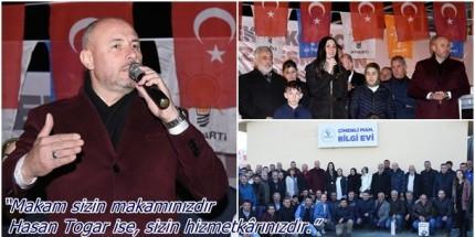 Togar: 'Türkiye'nin En Önemli İlçelerinden Biri Olacağız'