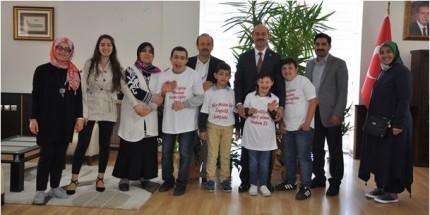 Özel Öğrencilerden Başkan Ali Kılıç'a Ziyaret
