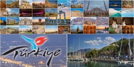 Turizmde Yabancı Ziyaretçi Sayısı Artıyor