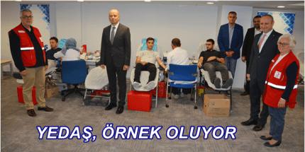 YEDAŞ 'Kan Bağışı' Kampanyasına Destek Verdi