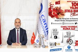 Canik Belediyesi'nden İstiklal Marşı Okuma Etkinliği