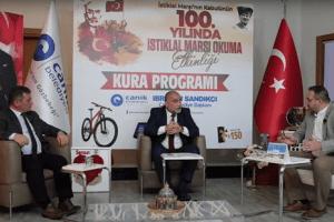 Canik'te İstiklal Marşı Okuma Etkinliği Tamamlandı