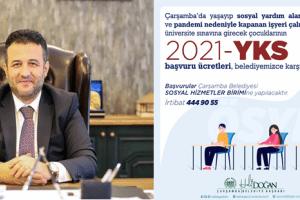 Çarşamba Belediyesi Gençlerin YKS Ücretlerini Karşılayacak