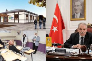 """Başkan Demirtaş: """"Her Mahalleye Bir Bilgi Evi Projesini Kurmak İstiyoruz"""""""
