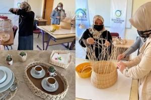 Meslek ve Sanat Eğitim Kursları Gelenekleri Yaşatıyor