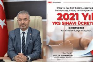 19 Mayıs Belediyesi'nden YKS Desteği