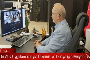 """""""OMÜ Kampüsü'nde Sıfır Atık Uygulamaları ve Gelecek Hedefleri"""" Webinarı"""