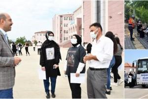 Terme Belediyesi, YKS Adaylarını Yalnız Bırakmadı