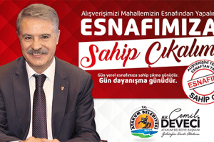 Atakum Belediyesi'nden 'Yerel Esnafa Destek' kampanyası