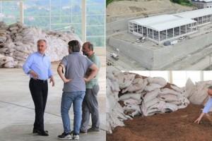 Çay Çöpünden Mangal Kömürü Üretim Tesisinde Çalışmalar Devam Ediyor