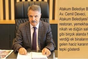 """Başkan Deveci'den Haciz Tepkisi: """"Ben Çadırda da Hizmet Veririm"""""""