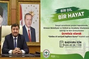 Giresun Belediyesi'nden Ücretsiz İngilizce Kursu