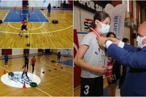Canik'te Spor Hayat Boyu Devam Ediyor