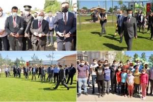 Çarşamba Belediyesi 4 Spor Tesisinin Açılışını Gerçekleştirdi