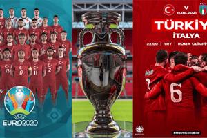 EURO 2020 Başlıyor Bizim Çocuklar Sahaya Çıkıyor