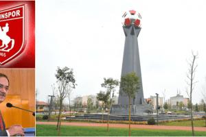 Samsunspor Anıtı Millet Bahçesi'nde Yerini Alıyor